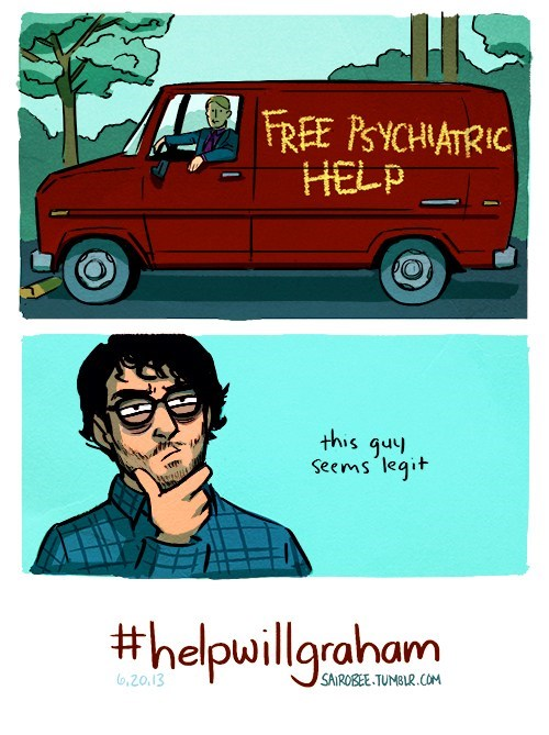 Fan Art hannibal seems legit