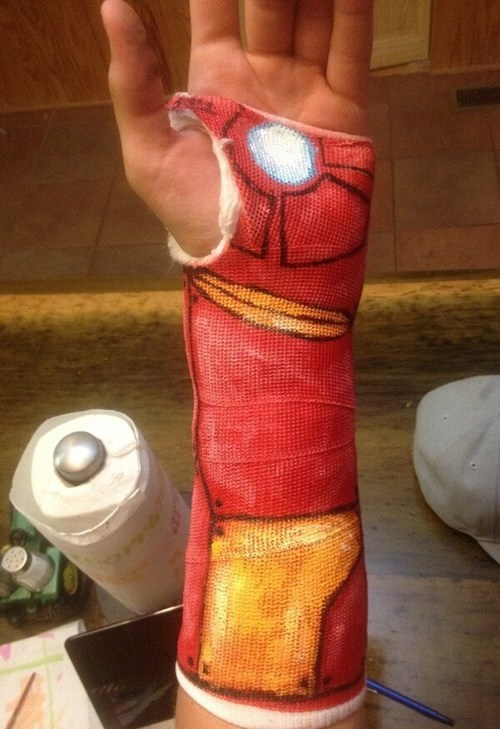 IRL casts iron man superheroes DIY - 7589158656