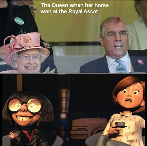 the queen Queen Elizabeth II the incredibles totally looks like - 7589160448