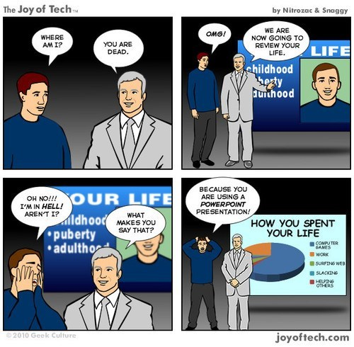 powerpoint,joy of tech,webcomics