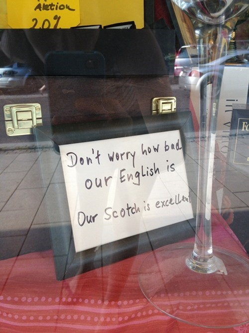 sign,scotch,Germany,funny,after 12,g rated