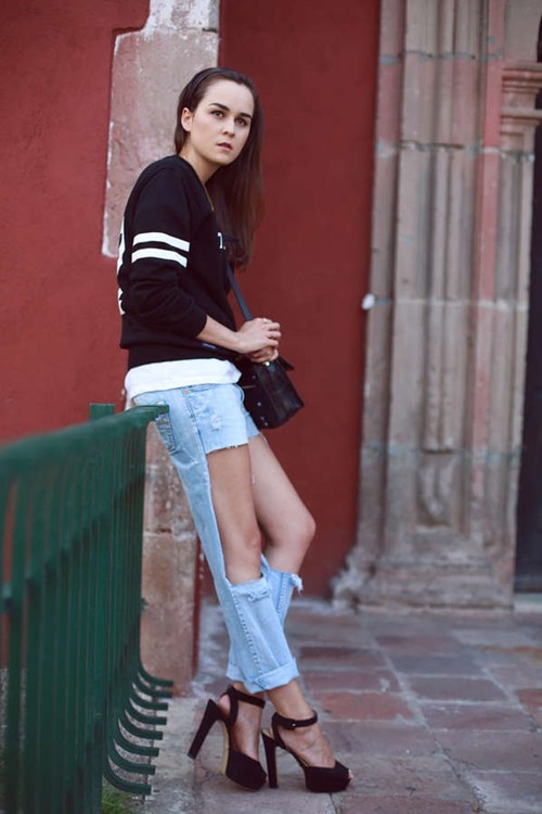 shorts jeans pants funny - 7589377792