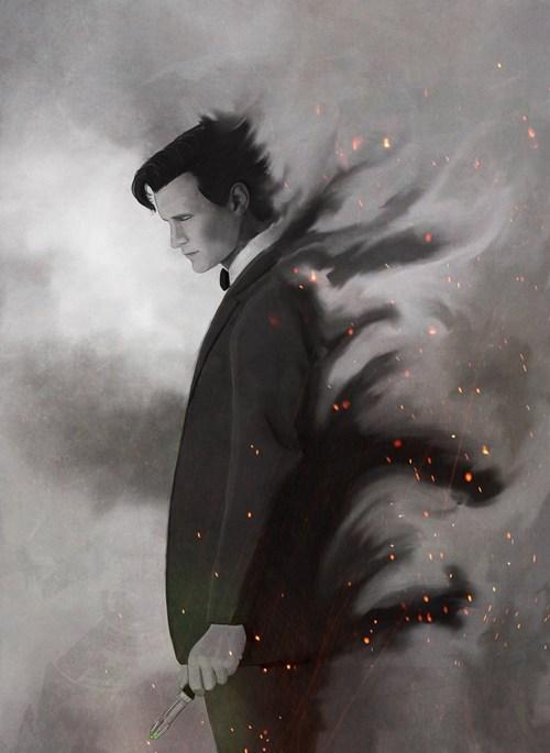 Fan Art 11th Doctor doctor who - 7589472256