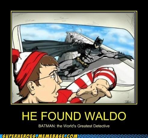 detective wheres waldo batman funny - 7589525504