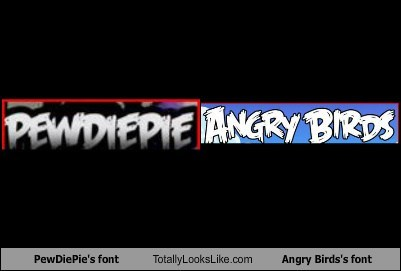 fonte angryblue