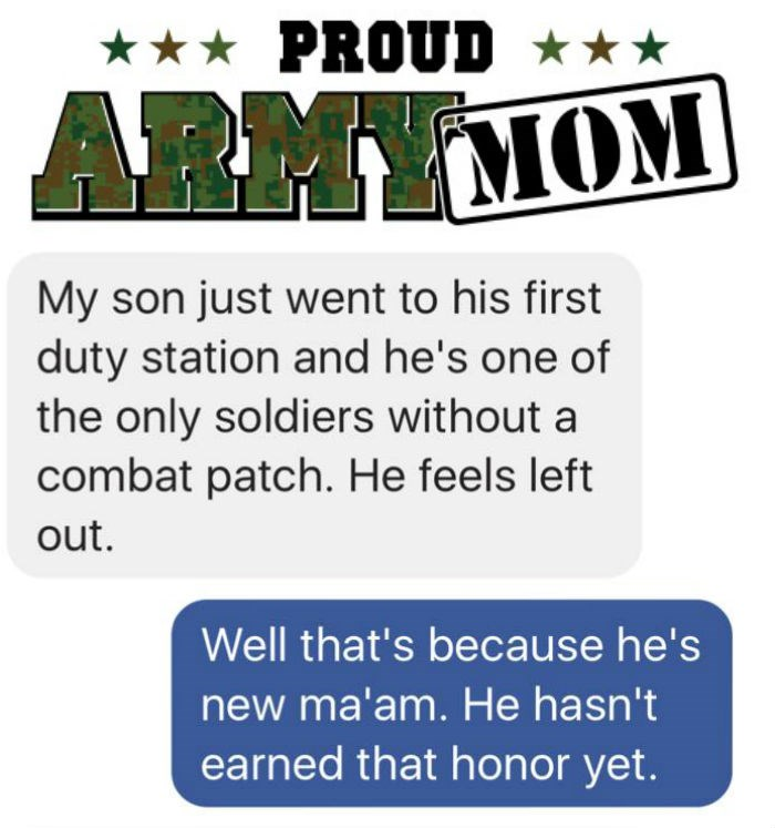 FAIL list mother text parenting army
