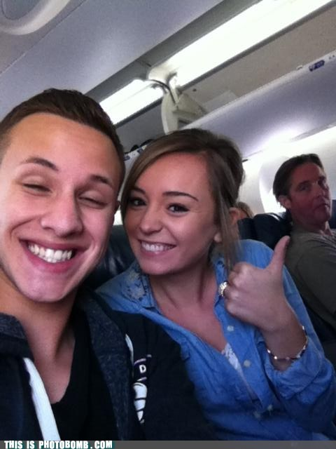photobomb selfie kids these days airplanes funny - 7590587904