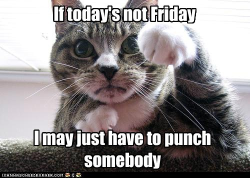 FRIDAY,punch,TGIF,funny