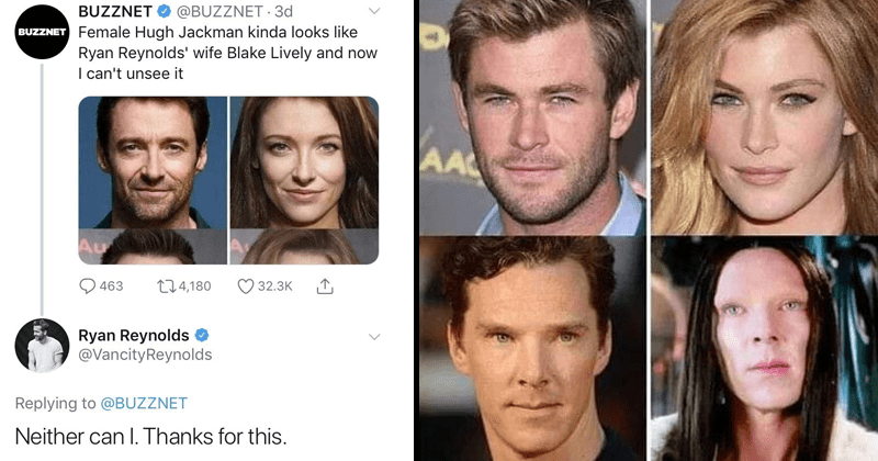 Funny tweets about the marvel cast as women.