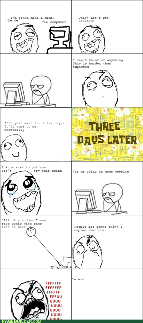 ideas,plagiarism,making rage comics
