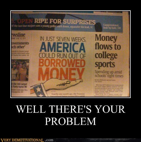college sports america funny money newspaper - 7591987712