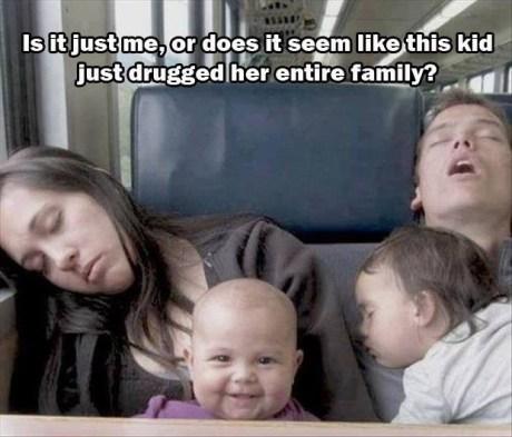 Babies public transportation plotting sleeping funny g rated parenting - 7591993600