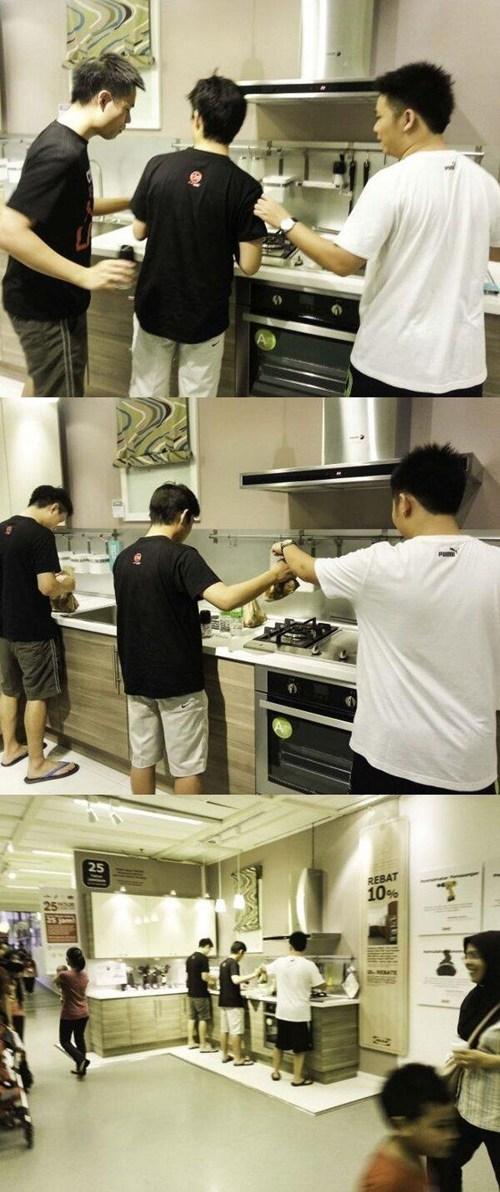 cooking kitchen - 7592083200