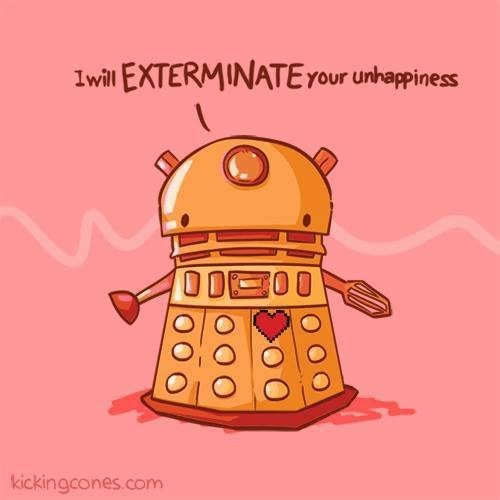 cute daleks doctor who