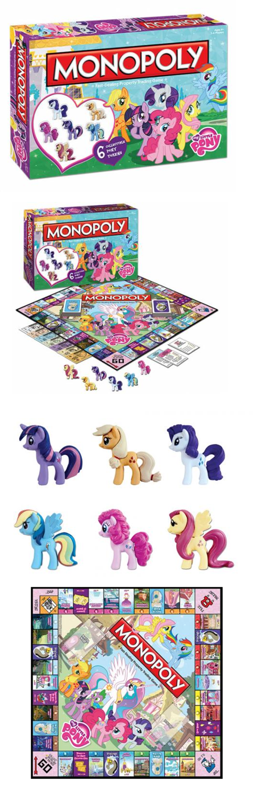 my little pony monopoly board games - 7592210944