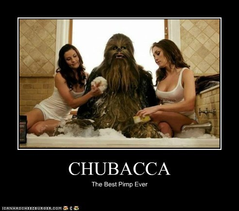CHUBACCA The Best Pimp Ever