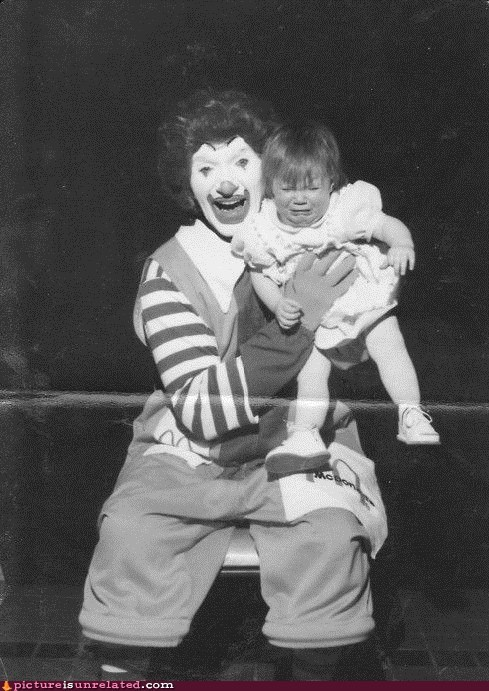Ronald McDonald,wtf,kids,funny