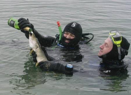 wtf booze fish scuba diving - 7592708864