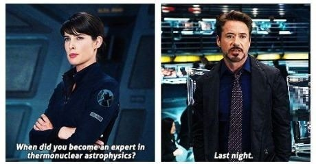 astrophysics tony stark science funny - 7593010176