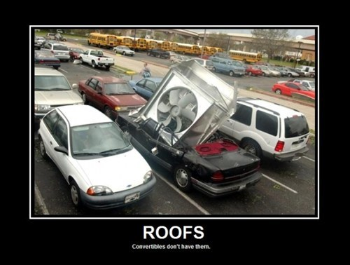 roof convertible wtf car fan