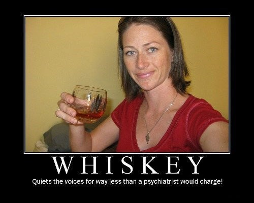 whiskey therapy funny - 7593173504