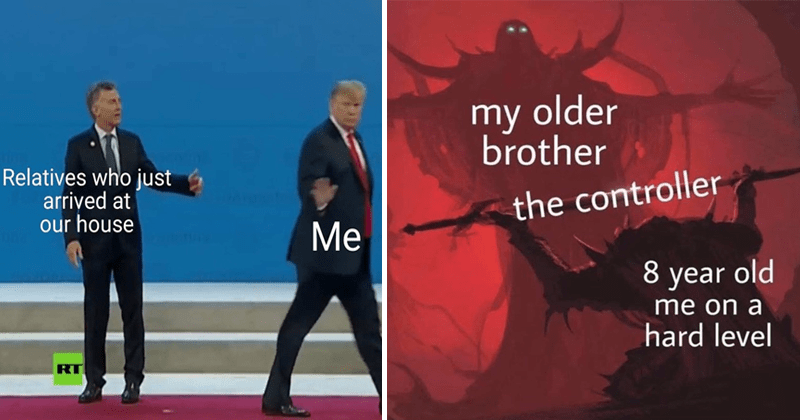 funny memes, stupid memes, relatable memes.