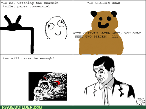 toilet paper charmin if you know what i mean - 7593304320
