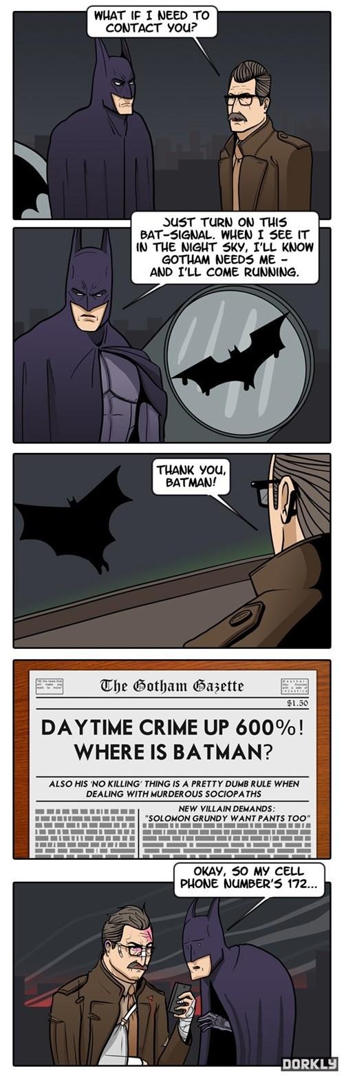 useless batman funny Bat signal - 7593916160