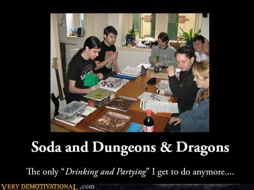 drinking Party funny dungeons and dragons