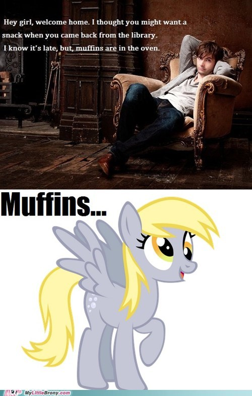 David Tennant,derpy hooves,muffins