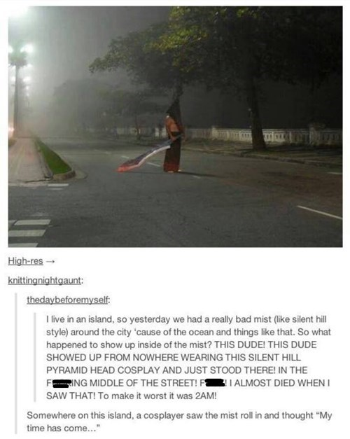 cosplay pyramid head video games - 7596272128