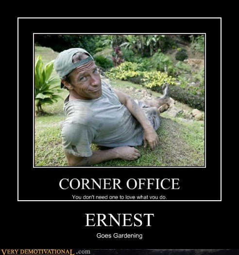 mike rowe,ernest,camping,funny