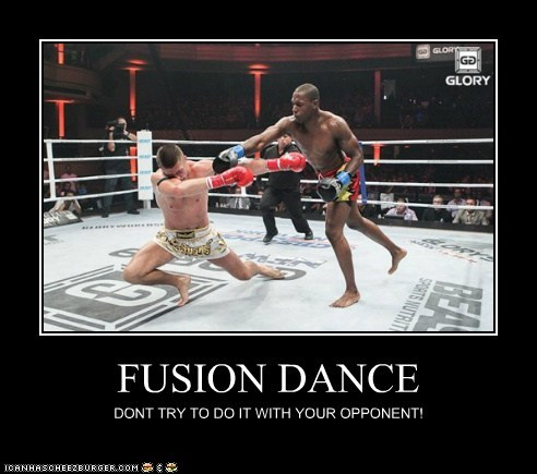 FUSION DANCE DONT TRY TO DO IT WITH YOUR OPPONENT!