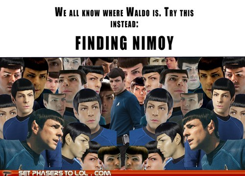 leonard nemoy Spock Star Trek - 7597693952