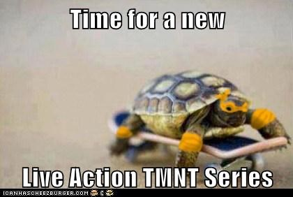 Time for a new Live Action TMNT Series