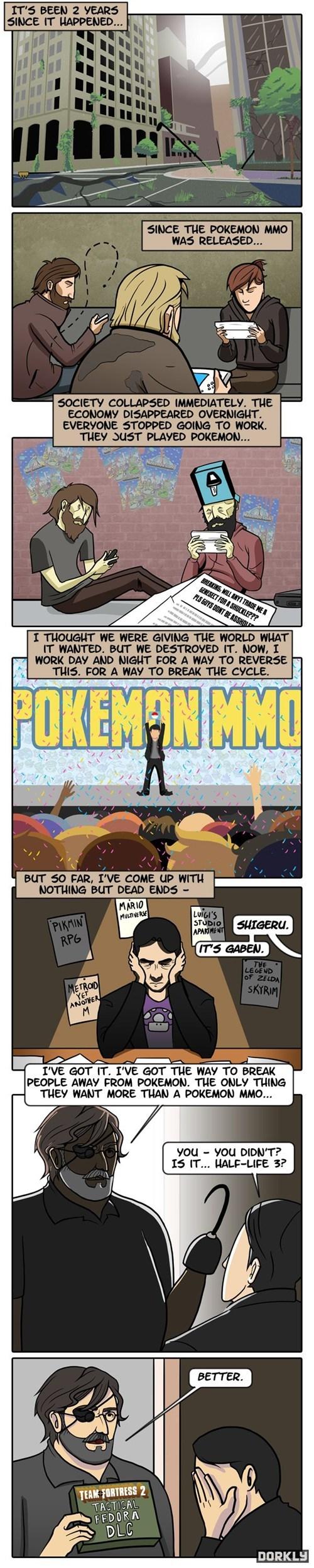valve Pokémon dorkly comics nintendo - 7599492864