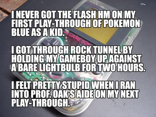 hms Pokémon game boy flash - 7599592960