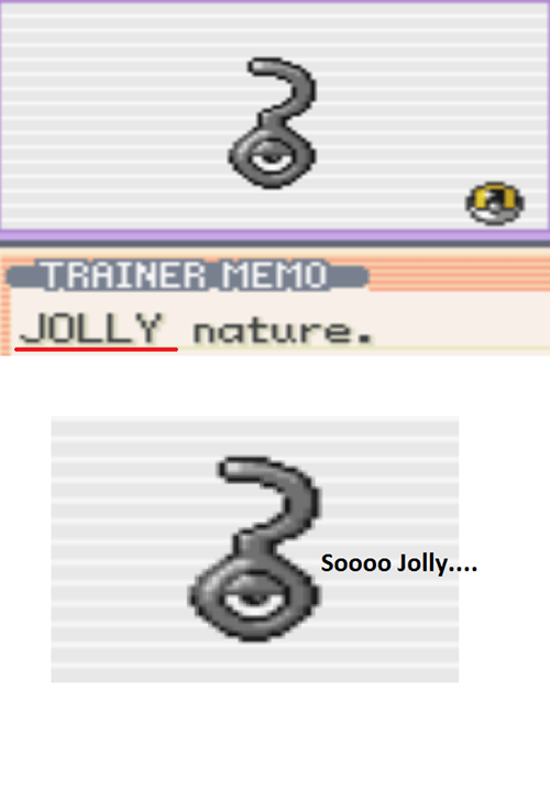 unown natures jolly - 7599733760