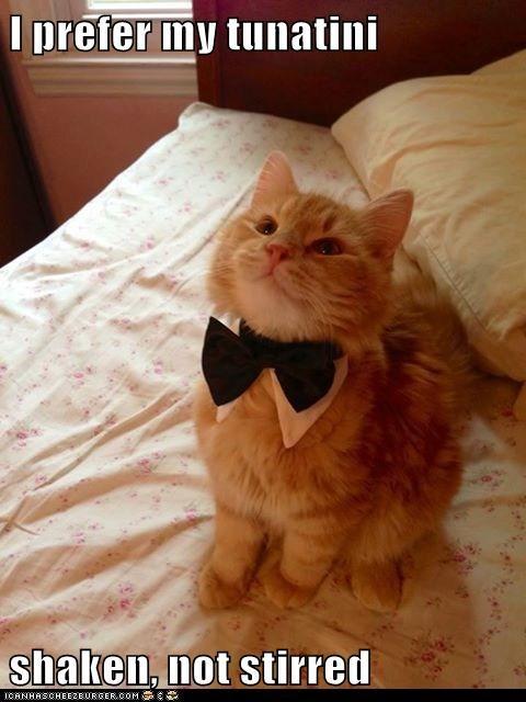bowtie martini james bond funny - 7599804928