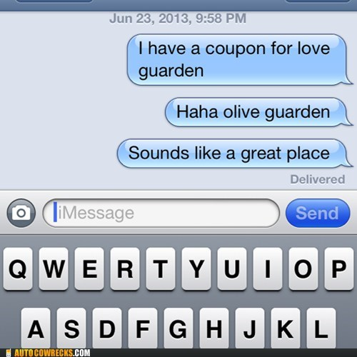 olive garden,funny