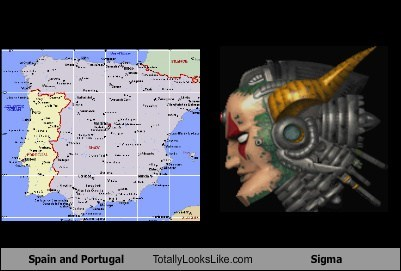 portugal,Spain,totally looks like,sigma,funny