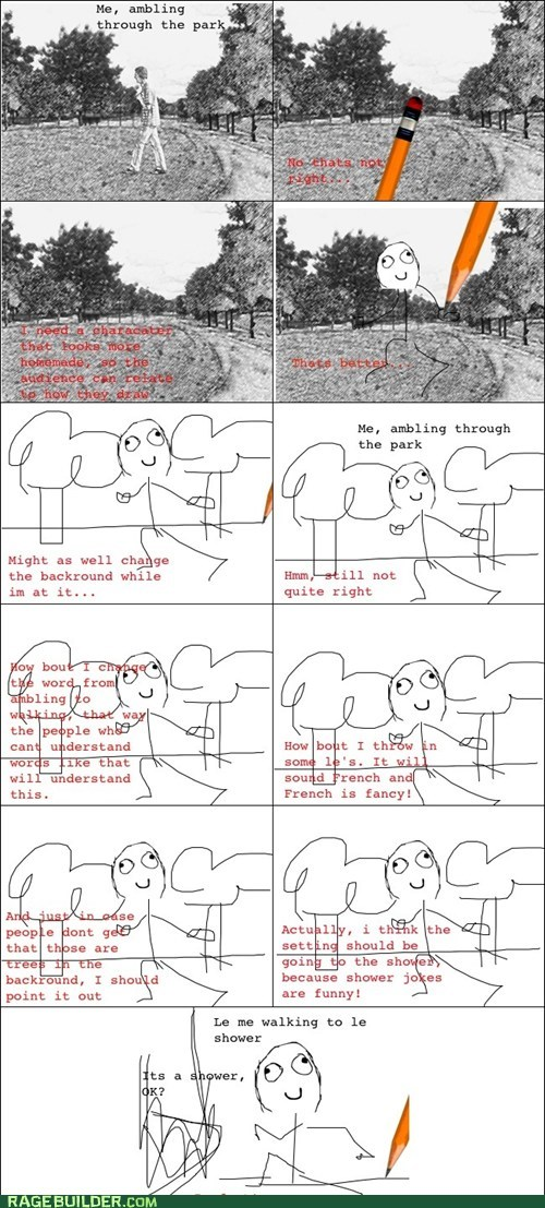 making rage comics poorly drawn - 7600673792