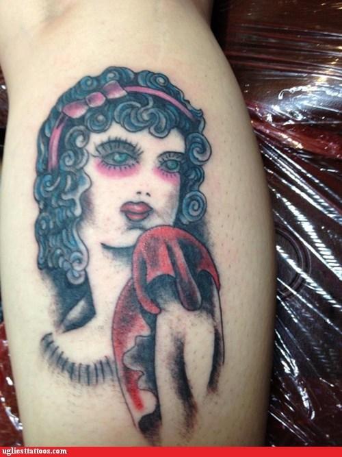 face shrugs tattoos funny - 7600729856