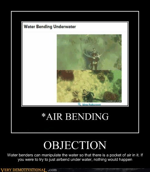 air bending,funny,objection,water bending