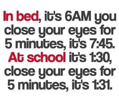 quotes school clocks broken funny - 7601216000