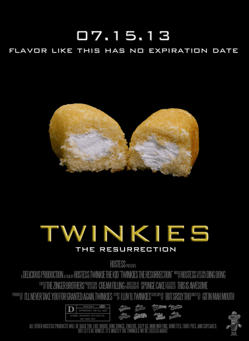 twinkies cupcakes monday thru friday g rated - 7601375744