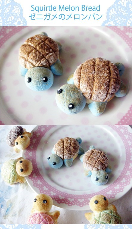 Pokémon IRL squirtle food - 7601402624