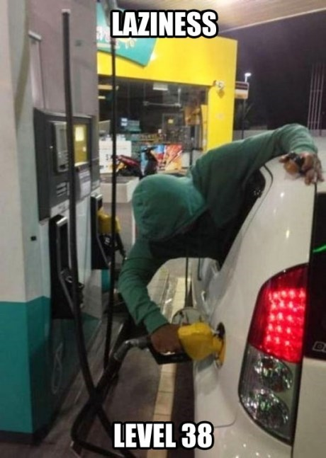 gas IRL lazy gas station drive thru - 7601576960