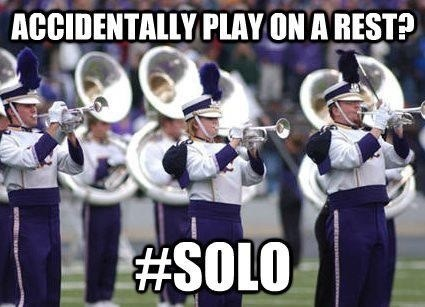 Music solo marching band funny g rated - 7601586432