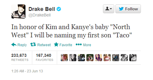 Music twitter drake bell kanye north west funny g rated - 7601635072